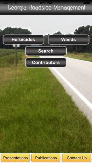Screenshot of Patrick McCullough's Georgia Roadside Management app