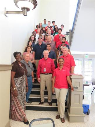 2018 UGA Griffin Young Scholars and their mentors