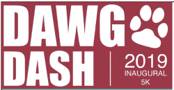 Image of 2019 Dawg Dash logo