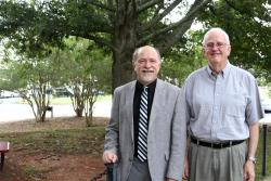 Photo of Dr. Diez (left) and Dr. Beuchat (right)