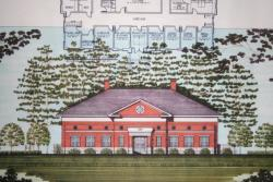 Rendering of the FoodPIC building being built on the UGA campus in Griffin