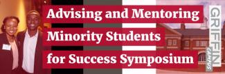 Image of Advising and Mentoring Moniroity Students for Success Symposium logo