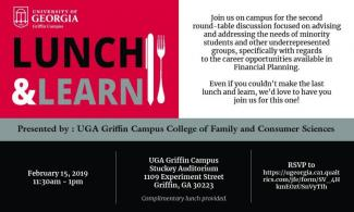 Image of Lunch and Learn Flyer