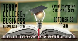 Picture of Terry College of Business Virtual Information Session Flyer