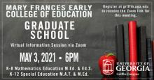 Picture of College of Education Virtual Information Flyer