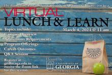 Virtual Lunch and Learn Flyer