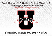 Healthy U at UGA-Griffin Campus March 30, 2017 at 9am